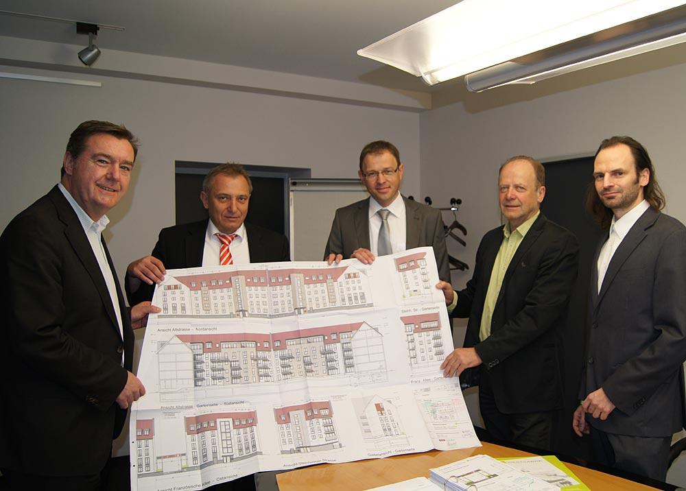 Architekt Hanau grünes licht für westcarré